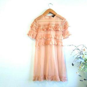River Island ◾ Lace Midi Dress